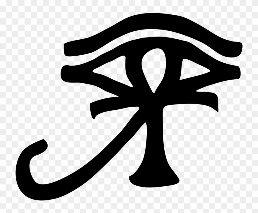 Ankh And Eye Of Horus , Png Download.