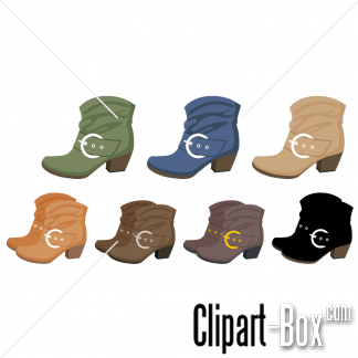 Clip Art Put On Boots Clipart.