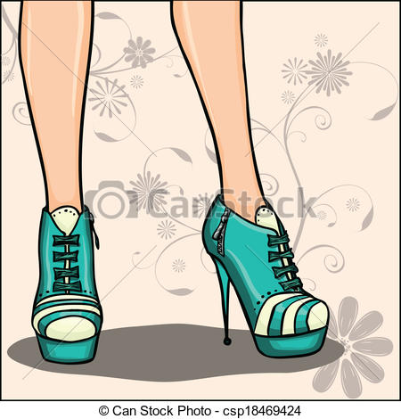 Ankle boots Clipart and Stock Illustrations. 402 Ankle boots.
