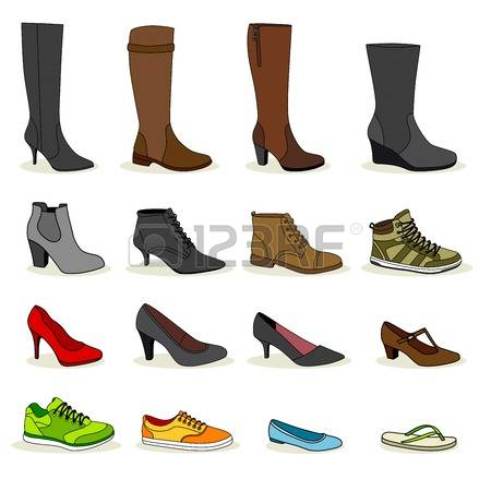 536 Ankle Boots Stock Vector Illustration And Royalty Free Ankle.