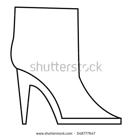 Ankle Boots Stock Vectors, Images & Vector Art.