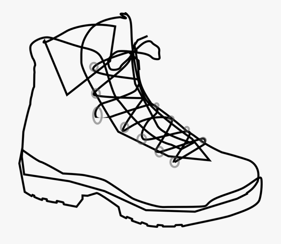 Shoe, Boot, Footwear, Boots, Plain.