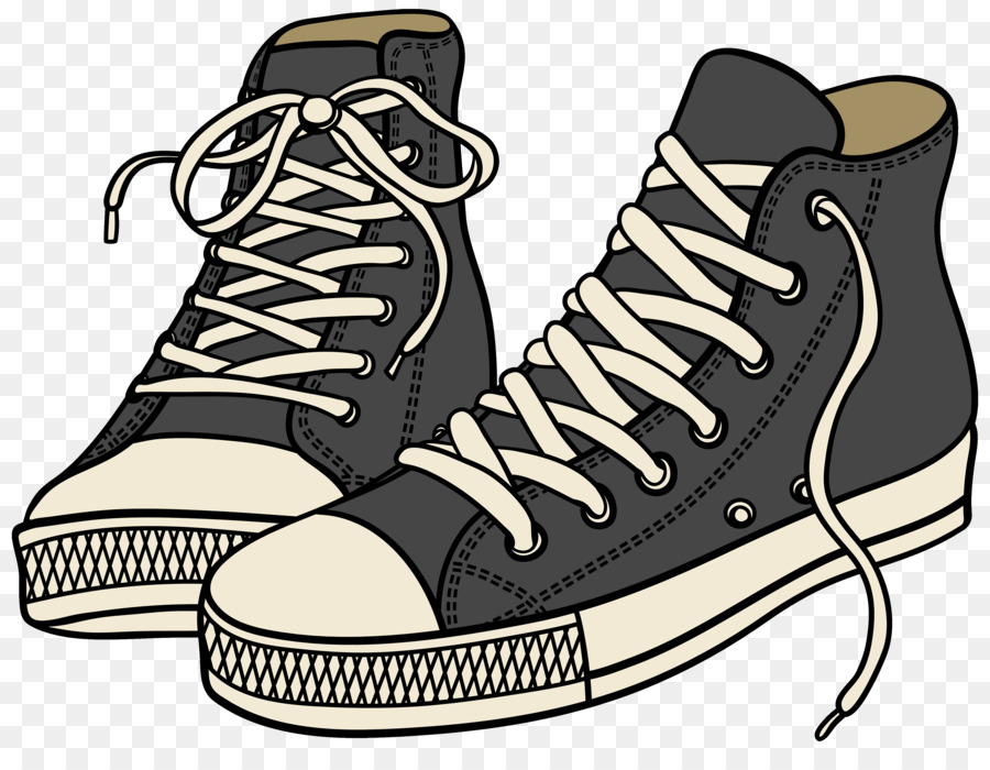 656 Sneakers free clipart.