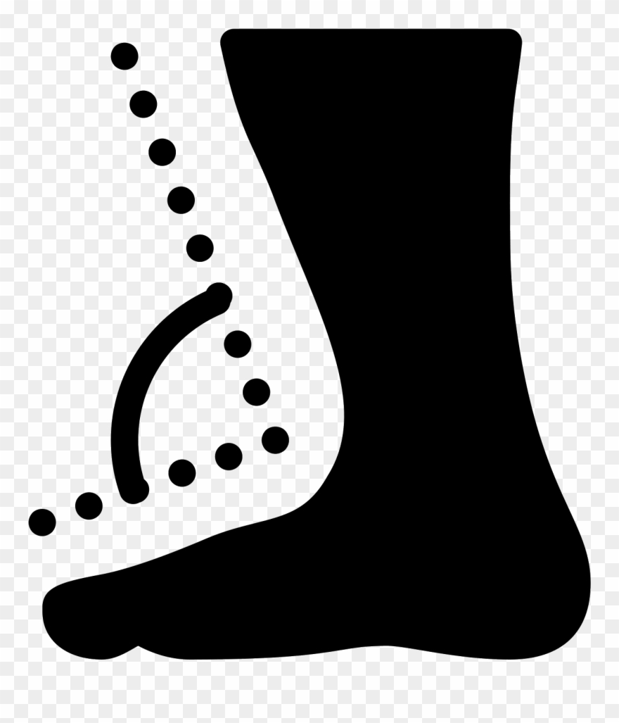 Clip Art Transparent Download Ankle Drawing Foot Angle.