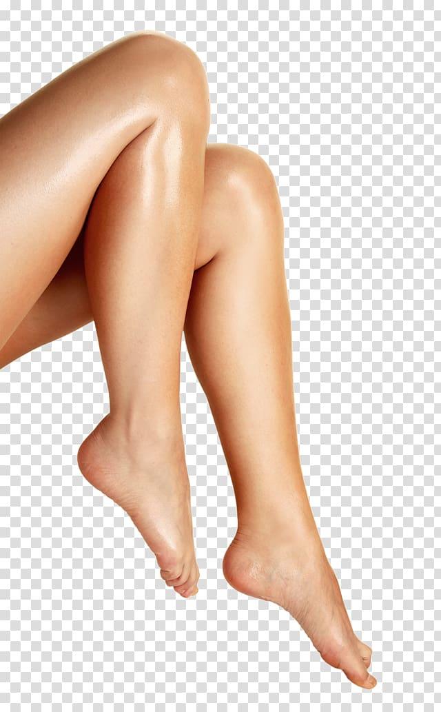 Foot Ball Human leg Heel, female leg transparent background.