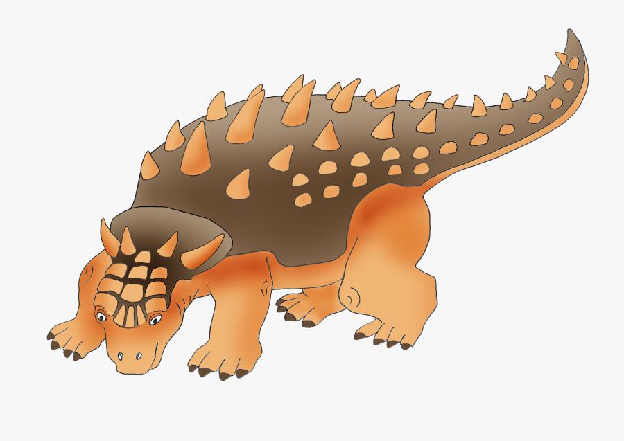 Ankylosaurus Dinosaur Clipart.