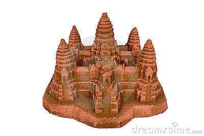 Path, Angkor Wat Stock Image.