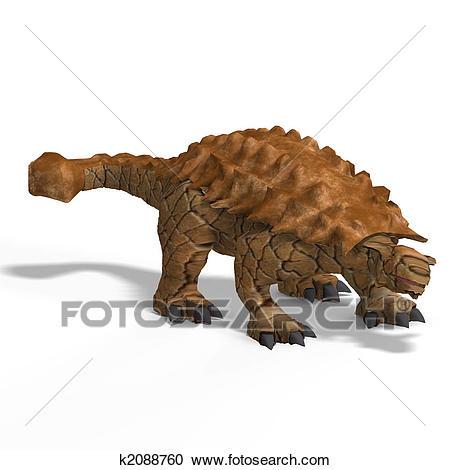 Ankylosaurus Clipart.