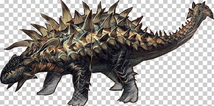 ARK: Survival Evolved Tyrannosaurus Ankylosaurus Gallimimus.