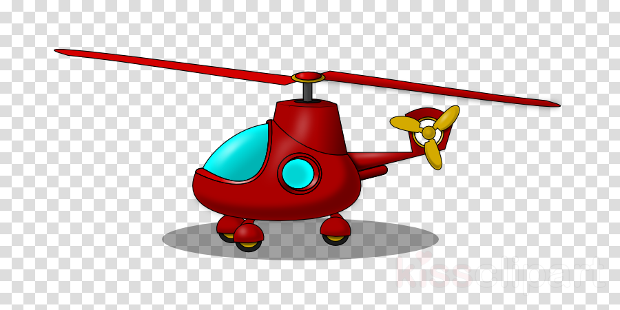 Helicopter Cartoon clipart.