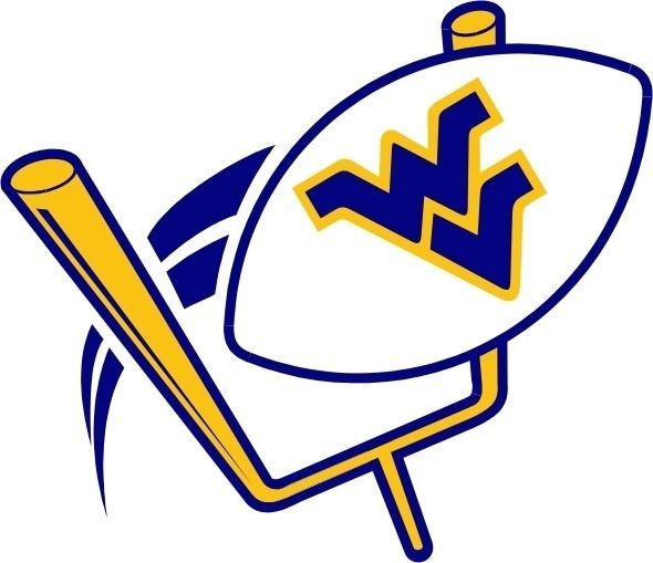 West Virginia Football Clipart.