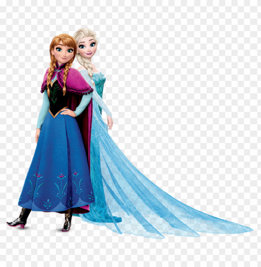 Download anna and elsa frozen clipart png photo.