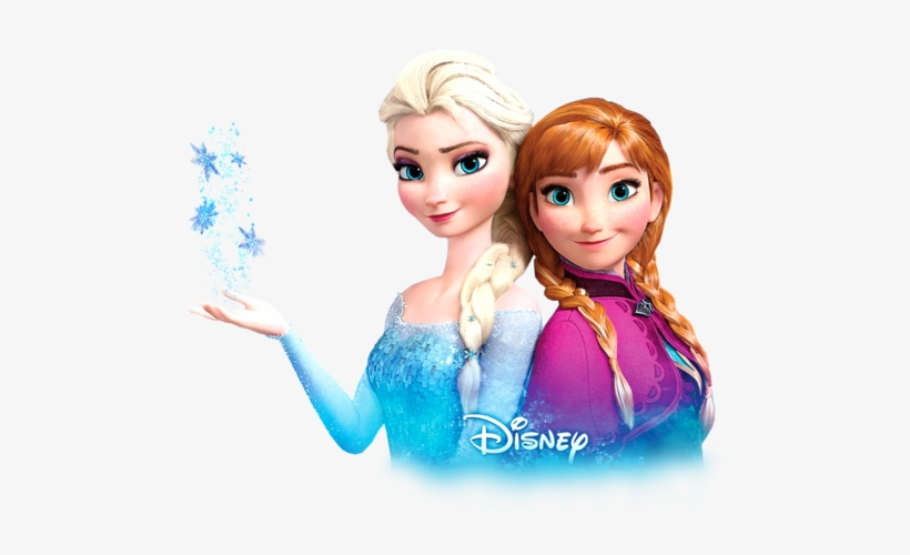 Transparent Anna And Elsa Wallpaper In The Frozen Club.