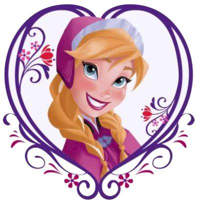 Frozen: Ana Clip Art..