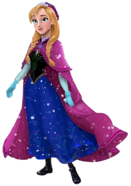 Frozen Black And White Clipart.