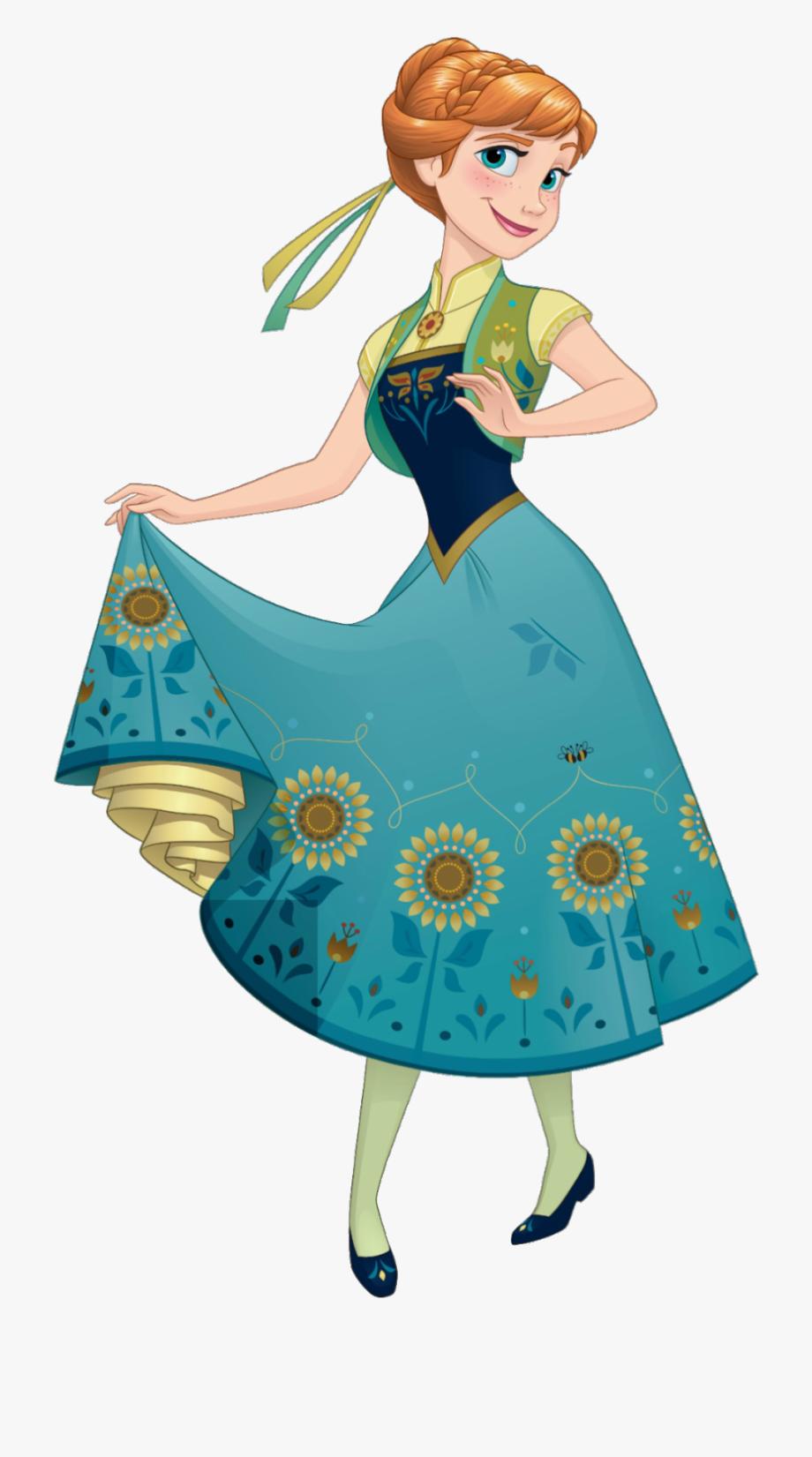 Elsa Clipart Invitation.