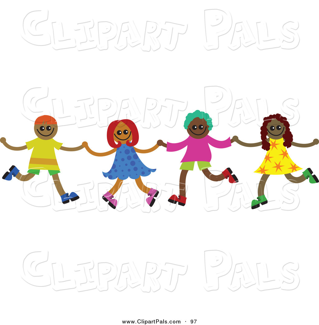 Teen Girls Running Clipart.