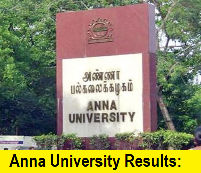 Anna University Result April/May 2019 (Announced) for UG/PG graduates.