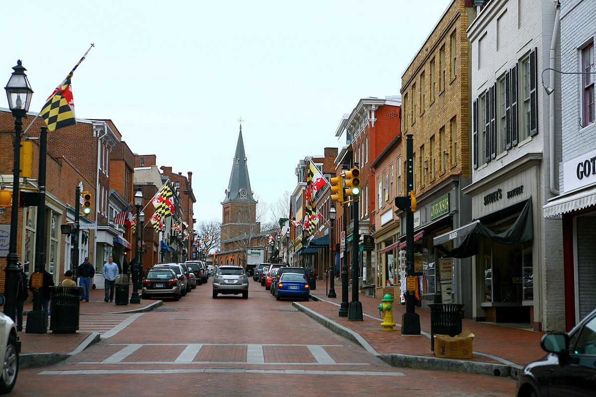 Annapolis, Maryland.