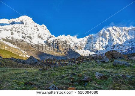 Annapurna Stock Photos, Royalty.