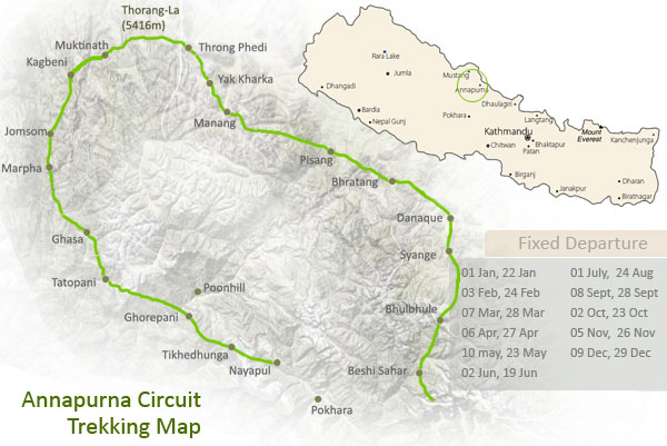 Annapurna circuit.