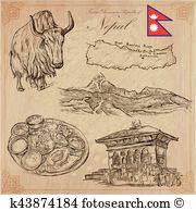 Annapurna Clipart and Illustration. 8 annapurna clip art vector.