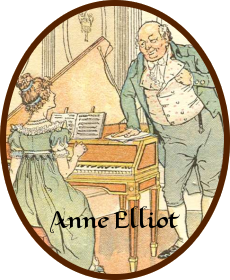 Anne Elliot and Fanny Price.