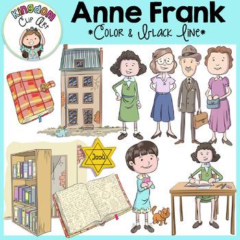 Anne Frank Clip Art.