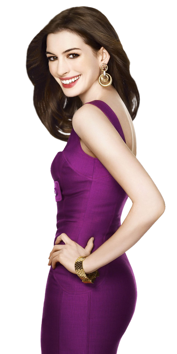 Anne Hathaway PNG Clipart.