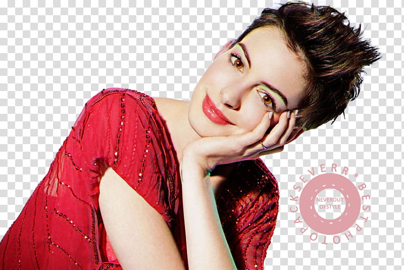 Anne Hathaway, transparent background PNG clipart.
