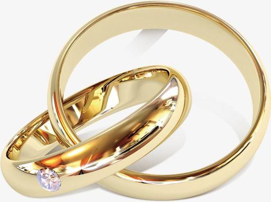 Golden Wedding Ring.