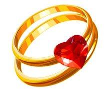 Free Anneaux de mariages Clipart and Vector Graphics.