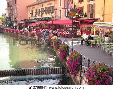 Stock Photography of France, Annecy, Haute.
