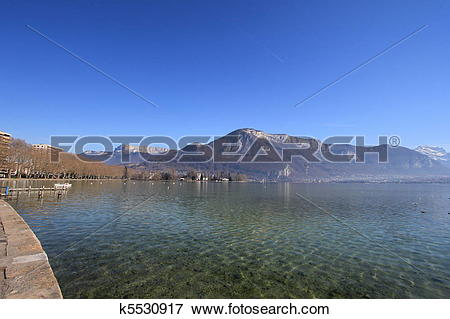 Picture of lake annecy k5530917.