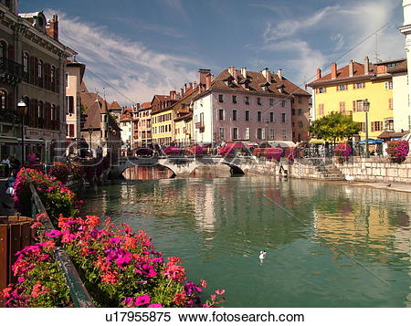 Stock Image of France, Annecy, Haute.
