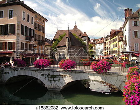 Stock Photo of France, Annecy, Haute.