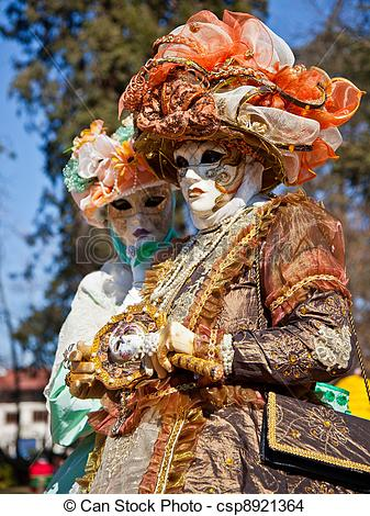 Stock Photo of Venitien Festival, Annecy, France.