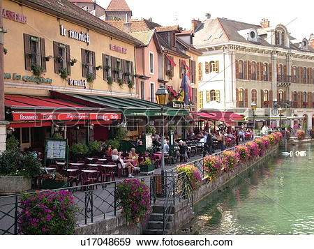Stock Photograph of France, Annecy, Haute.