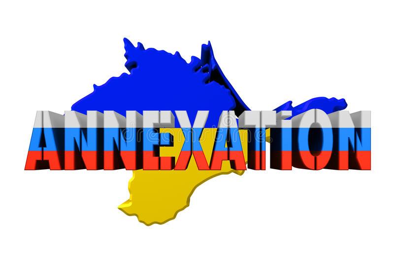 Annexation Crimea Stock Illustrations.