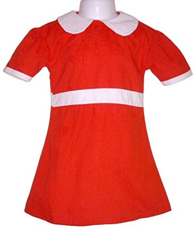 Buy BdayParties Little Orphan Annie Dress Costume Child X.