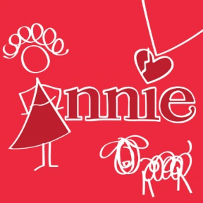 Annie Dress Clipart.