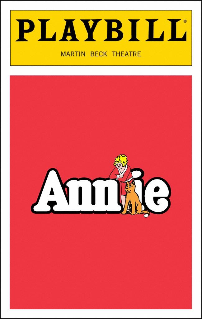 Annie Broadway @ Martin Beck Theatre.