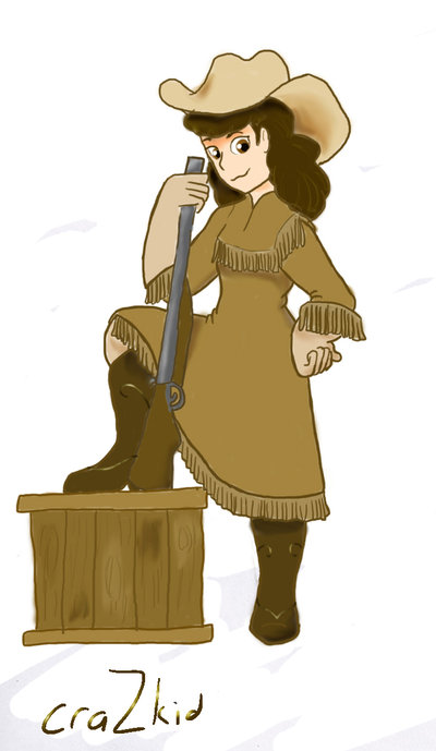 Annie oakley clipart 3 » Clipart Station.