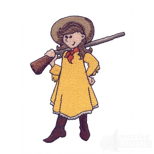 Annie oakley clipart 2 » Clipart Station.