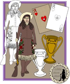 Annie Oakley Clipart.