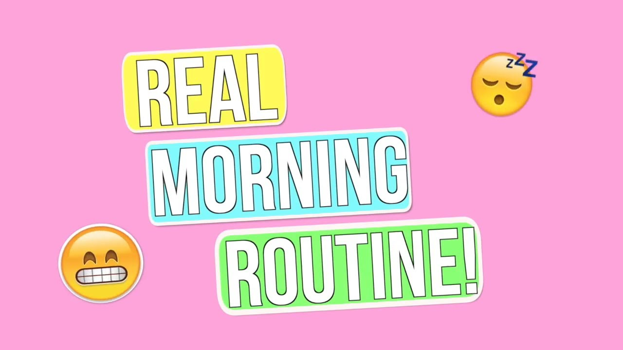 My REAL Morning Routine Summer Edition.
