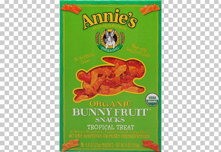 Organic Food Annie\'s Homegrown Fruit Snacks Citrus PNG.