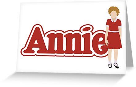\'Annie \' Greeting Card by KisArt.