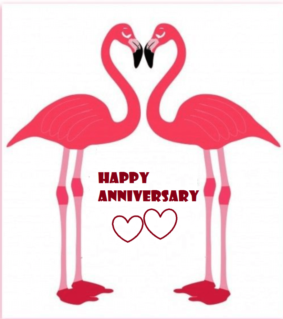 Happy Marriage Anniversary Clipart Wishes.