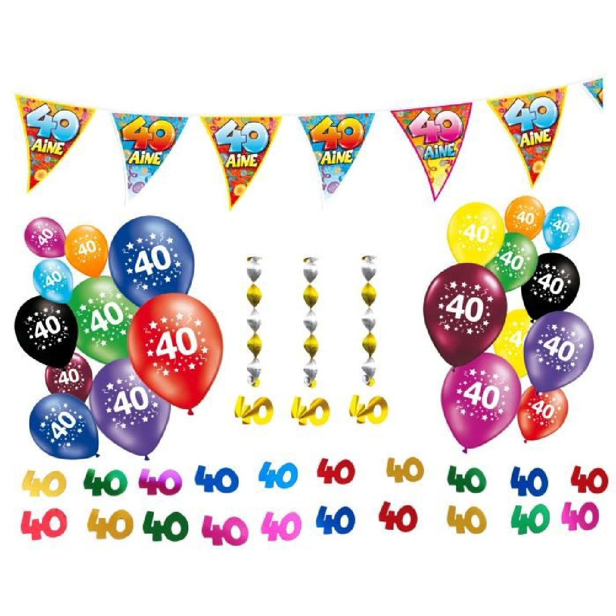 Decoration Chat Anniversaire